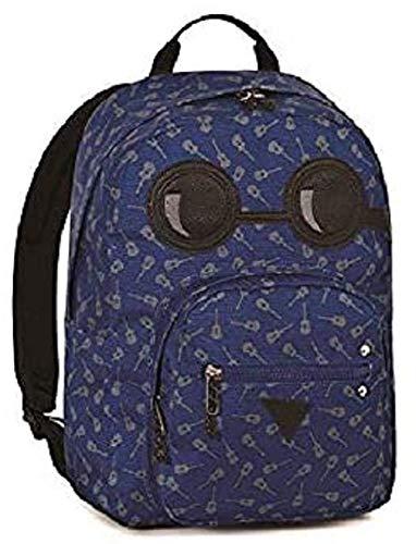 INVICTA. Zaino Scuola Ollie Pack YAP Face Blu Notte + Omaggio Penna + imaggio segnalibro