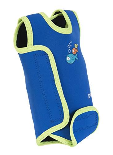 Swimbest Baby Badeanzug, Blau/Grün, 0-6 Monate (BWTWS3-06)