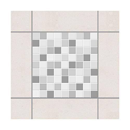 Adesivo per Piastrelle - Mosaico Winterset 10 x 10 cm