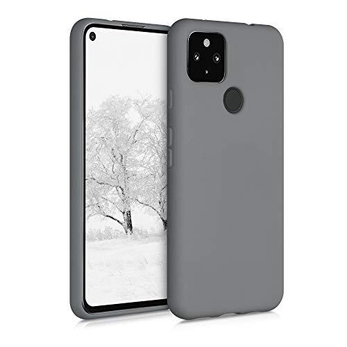 kwmobile Hülle kompatibel mit Google Pixel 4a 5G - Hülle Handyhülle - Handy Case in Titanium Grey