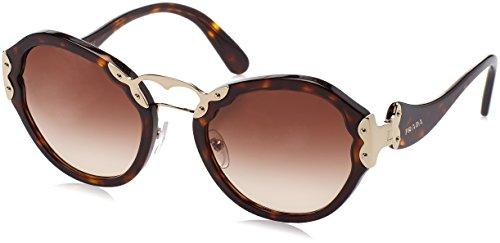 Prada Damen 0Pr09Ts 2Au6S1 54 Sonnenbrille, Braun (Havana/Browngradient)