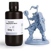 ELEGOO LCD UV 405nm 3D Resina Rápida para LCD Impresora 3D 1000g Fotopolímero Resina Gris