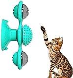 crea teen play- gioco per gatti, divertente, promuove la salute dentale e fornisce esercizio. con un coloratissimo gioco a molle in omaggio!(blu)