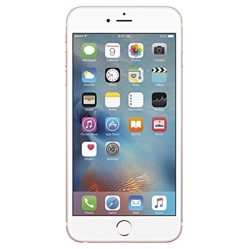 Apple iPhone 6S, 16GB, Rose Gold - For AT&T / T-Mobile (Renewed)