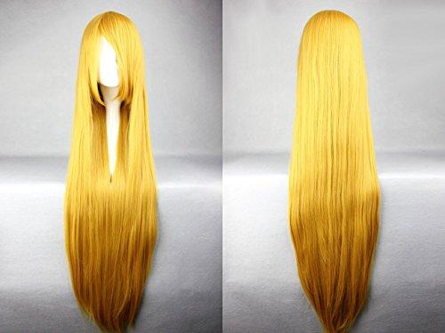 Ladieshair Cosplay Perücke blond 100cm glatt Code Geass - Shirley Fenette
