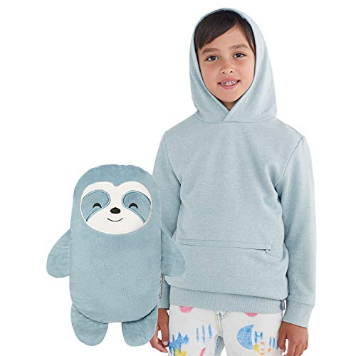 Cubcoats Sao The Sloth 2-in-1 Transforming Pullover Hoodie & Soft Plushie