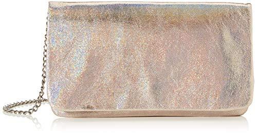 s.Oliver (Bags Damen 39.911.94.2088 Clutch, Gold (Ice Gold), 2x14x24 cm
