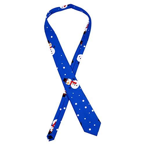 PRETYZOOM Corbata de Navidad Hombres Corbatas Corbata para Niños Niños Hombres Fiesta de Navidad Favores Regalo Accesorios de Disfraces Estilo C