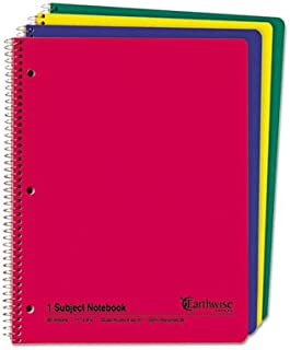 Wirebound Notebook, Quadrille Rule, 8-1/2 x 11, White, 3 Hole, 80 Sheets, Sold as 1 Each