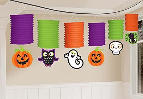 Amscan 7AM220088-55 - Farol de Halloween (365 cm), multicolor