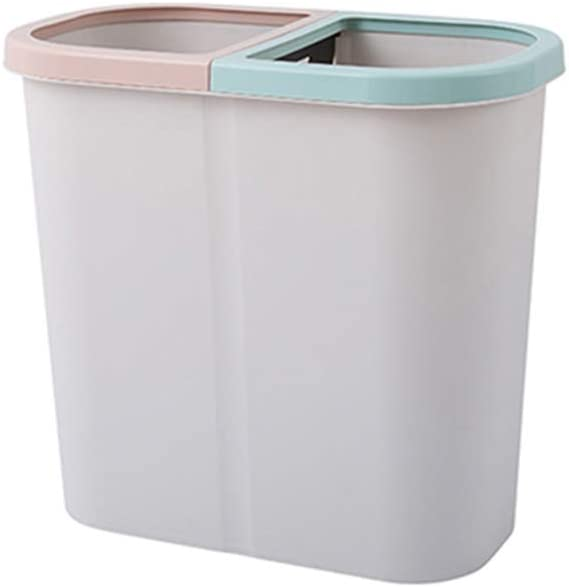 HAOXIANG Recycling Ranking integrated 1st place Trash Max 57% OFF Can Small Dual Plastic with