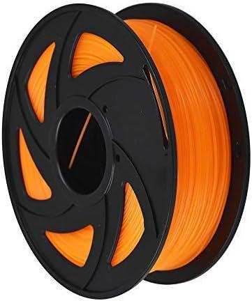 high quality 3D Printer Filament - 1KG(2.2lb) 1.75mm / 3 mm, Dimensional Accuracy PLA Multiple sale online sale Color (Transparent Orange,1.75mm) online sale