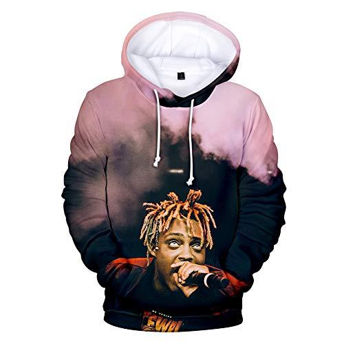 YICHEN Juice Wrld Hoodies Kapuzenpullover Sweatshirt Long Sleeve Printed Pullover Sweaters Outerwear Für Fans