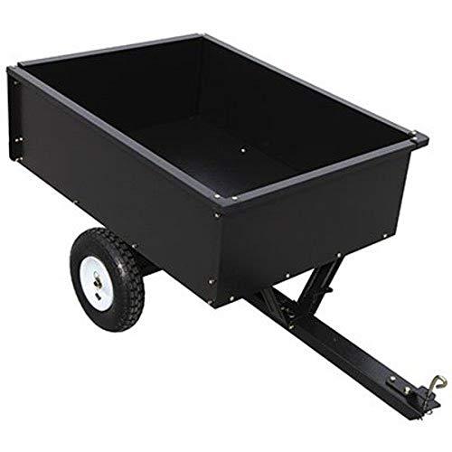 YTL INTERNATIONAL YTL22139 10 Cu. ft. Master Rancher Maximum Capacity Steel Dump Cart, 400 lb