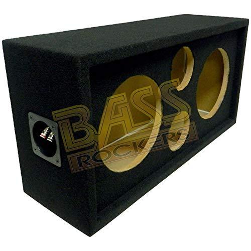 "Bass Rockers 2x2 Speaker Pod 10""/4"" Enclosure Box w/Spring Terminal (Carpet Finish)"