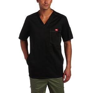 Dickies Men's Generation Flex Utility Scrubs V-Neck Shirt
