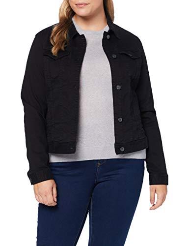 Armani Exchange Denim Jacket Chaqueta Vaquera, Negro, XS para Mujer