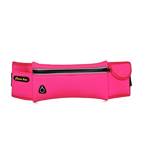 ZYT Stealth personnels poche multi-usages extérieur forfaits ultra léger poche téléphone cellulaire pour hommes et femmes. exécute les packages pink