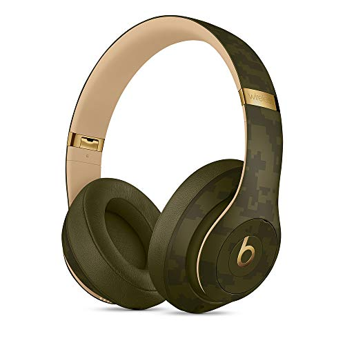Beats Studio3 Wireless Noise Cancelling Over-Ear Headphones - Camo Collection - Forest Green