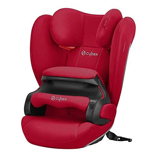 Cybex Silver 520004007 - Seggiolino Auto Pallas B-Fix, Dynamic Red Gruppo 2/3