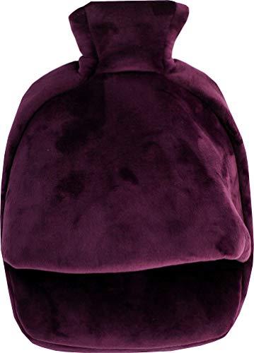 Vagabond Bags Cuddlesoft Fußwärmer, 1 Beutel, Aubergine, 575 g