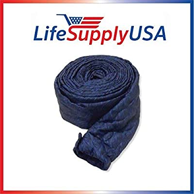 Central Vacuum Padded Hose Cover - 30 ft length