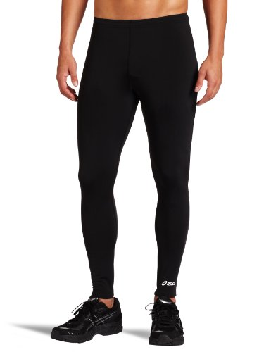 ASICS Men's Team Medley Tight, Black, Small