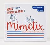 MIMETIX - 🇫🇷 😂 Le Jeu de Société de Mimes des Expressions Françaises - Jeu d'Ambiance pour Apéros & Soirées entre Adultes : Amis, Famille ou Collègues - 240 Cartes - Cadeau original