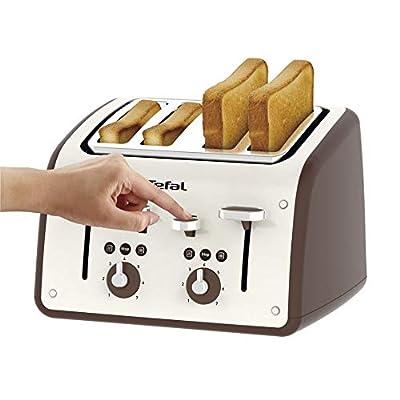 Tefal TF700N40 Toaster, Retra, 4 Slice, 1700 W