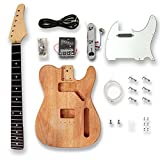 Best Guitar Kits - BexGears Electric Guitar Kits Okoume wood Body maple Review