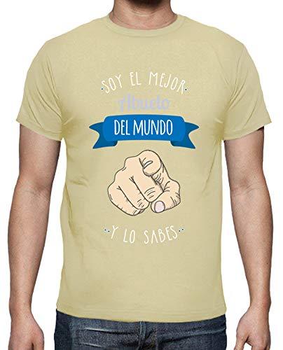 latostadora Camiseta Mejor Abuelo del Mundo (y lo Sabes) Fon