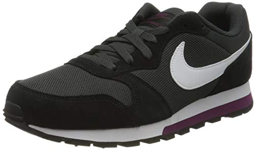 Nike Damen Md Runner 2 Fitnessschuhe, Mehrfarbig (Anthracite/White/Black/Bordeaux 012), 38.5 EU