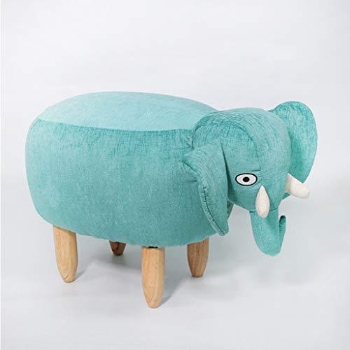 PLL Change Shoes Barkruk Home Door Wear Schoen Bench Voetbank Kinderen Cartoon Blauw Grijs Olifant Dier Barkruk