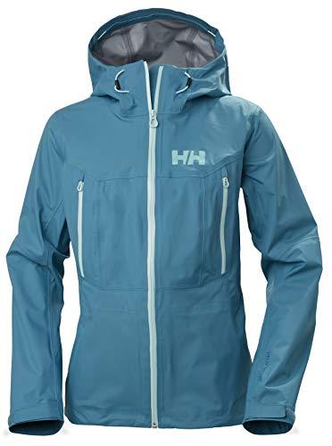 Helly Hansen Verglas 3L Shell Veste Femme Veste Femme Bleu FR : M (Taille Fabricant : M)