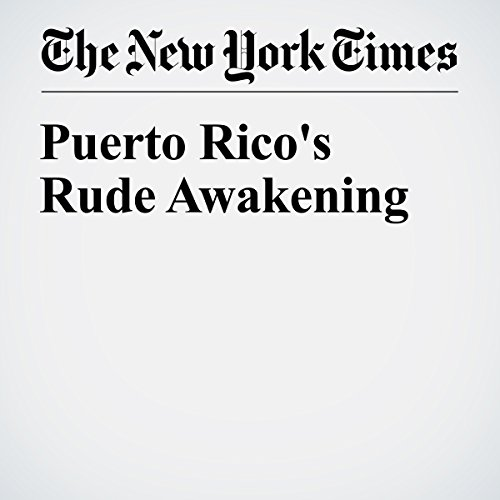 Puerto Rico's Rude Awakening cover art