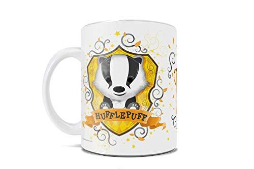 Harry Potter – Hufflepuff – Hogwarts Chibi Aquarell – Süße Geek Tasse – für Kaffee, Tee, Kakao oder als Geschenk