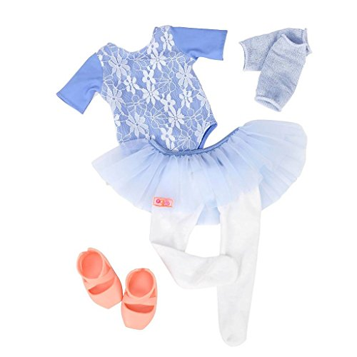 """Our Generation Out of the Blue Ballet Dress Outfit for 18"""" Dolls"""