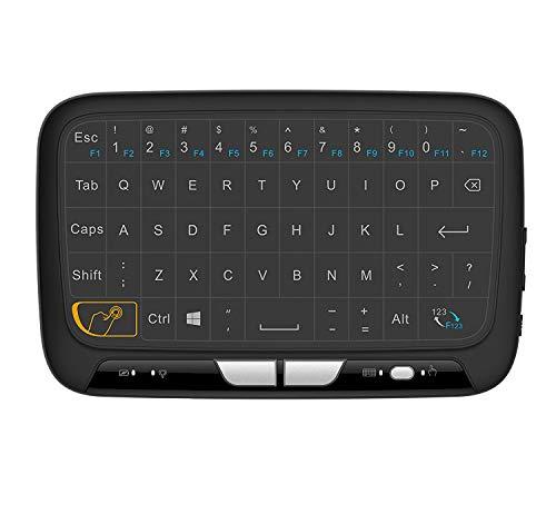 2.4Ghz Mini tastiera wireless del touchpad intero del pannello ricaricabile per Android / Google / Smart TV, Linux, scatola del Android TV, PC di Windows, HTPC, IPTV, lampone Pi, XBOX 360, PS3, PS4