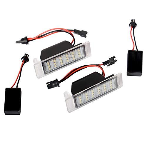 LED Kennzeichenbeleuchtung Nummernschildbeleuchte für Insignia A Caravan Mokka/Mokka X 2 Stücke