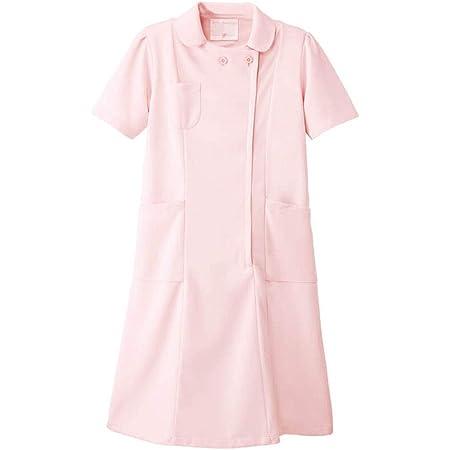 ナースリー 定番ワンピース 透け防止 ストレッチ 医療 看護 ナース 白衣 レディース
