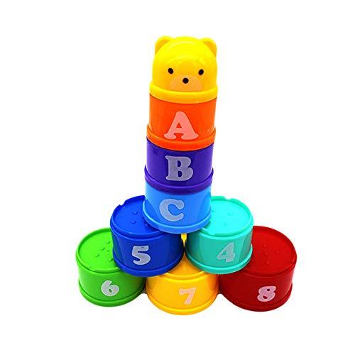 Seika - Giocattoli impilati a forma di coppa, per bambini