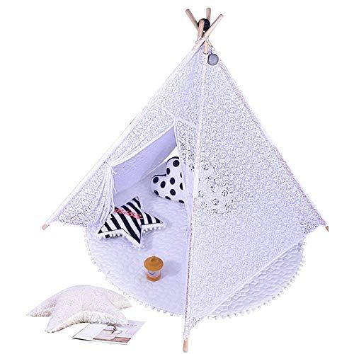 Blue-Yan Pavillon für Kinder Playhouse Play Pavillon für Kleinkinder Zelt für Camping, Innenbereich, Outdoor, Box, tragbar und faltbar A