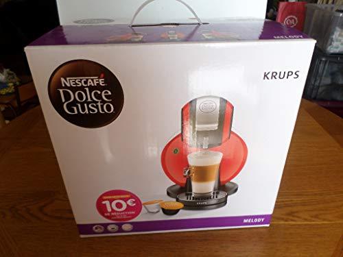 Krups yy1602fd Nescafé Dolce Gusto Melody cafetera de cápsula de...