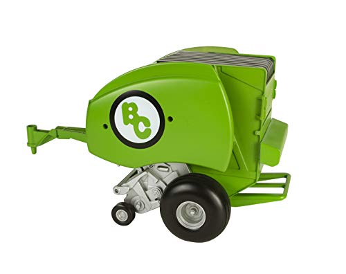 Big Country Toys Round Baler - Toy Hay Baler - 1:20 Scale - Farm Toys - Proprietary Blend of Plastic - Durable & Lifelike - Playable & Collectible
