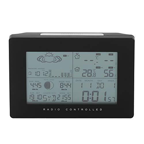 Klokthermometer, draadloze digitale klok-temperatuurthermometer Weer Sensor-ontvanger op afstand - kwaliteit is onze cultuur
