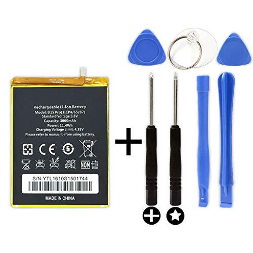 Bateria para OUKITEL U15 Pro + Kit Herramientas/Tools | Capacidad 3000mAh