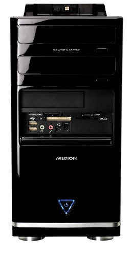 Medion Akoya P7002 Desktop-PC (Intel Core 2 Quad Q8200 2.3GHz, 3GB RAM, 500GB HDD, Nvidia GeForce 7100, DVD +- DL RW,Vista Home Premium)