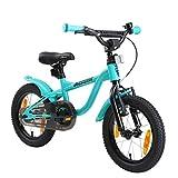 LÖWENRAD Kinderfahrrad für Jungen und Mädchen ab 3-4 Jahre | 14 Zoll Kinderrad mit Bremse |...