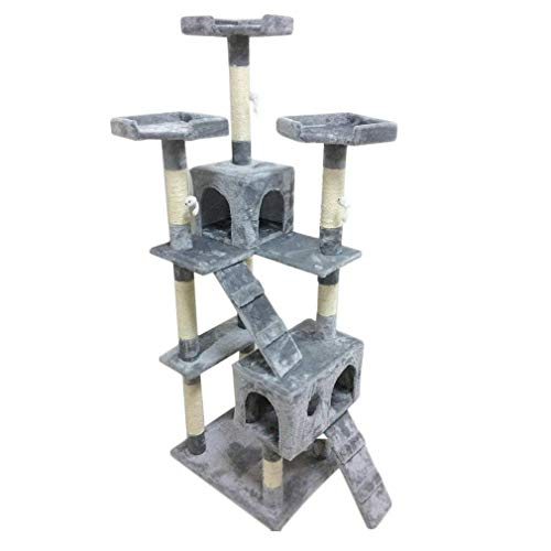 Homgrace Cat Tree,Cats Towers Activity Center 6ft Multi Level Pet Scratcher...