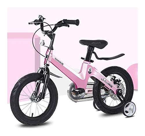 Bicicleta para Niños y Niñas Niños bicicleta de equilibrio sin pedal de la bici for las edades de 2-6 años Los niños pequeños-bicicletas con frenos de Balance Bell y Cesta for niños aprenden a montar